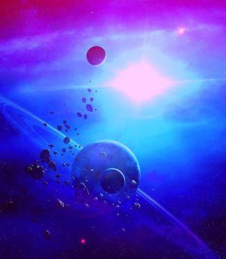 Asteroid - Obrázkek zdarma pro iPhone 4