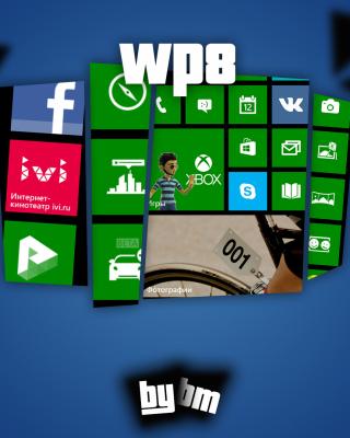 Wp8, Windows Phone 8 - Obrázkek zdarma pro iPhone 5S