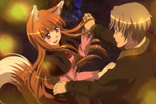Minitokyo Spice And Wolf Background for Android, iPhone and iPad