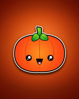 Cute Orange Pumpkin - Obrázkek zdarma pro Nokia Lumia 620