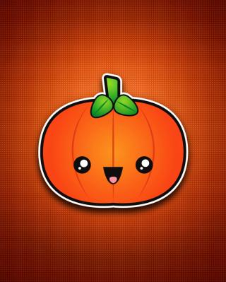 Cute Orange Pumpkin - Obrázkek zdarma pro 640x960