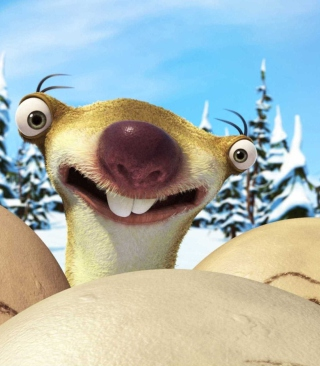 Ice Age Dawn of Dinosaurs Sloth - Obrázkek zdarma pro Nokia Asha 202