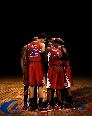 Los Angeles Clippers - Obrázkek zdarma pro Nokia Asha 303