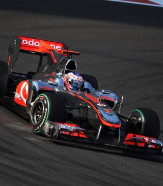 Jenson Button - Mclaren F1 - Obrázkek zdarma pro 360x480
