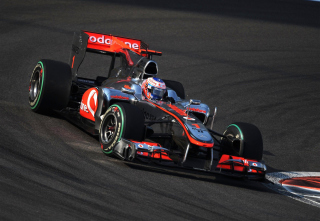 Jenson Button - Mclaren F1 - Obrázkek zdarma pro Motorola DROID 2
