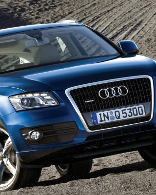 Audi Q5 Blue - Obrázkek zdarma pro 240x320