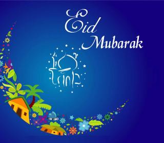 Eid Mubarak - Eid al-Adha - Obrázkek zdarma pro iPad mini 2