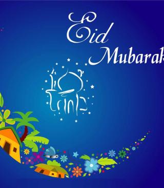 Eid Mubarak - Eid al-Adha - Obrázkek zdarma pro Nokia Asha 305