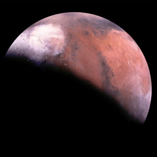 Mars Eclipse - Obrázkek zdarma pro iPad 3