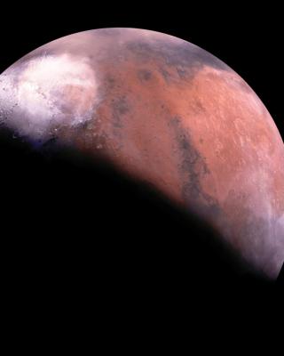 Mars Eclipse - Obrázkek zdarma pro Nokia Asha 502