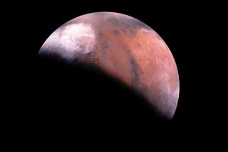 Mars Eclipse - Obrázkek zdarma pro Fullscreen Desktop 1280x1024