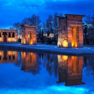Debod Temple - Madrid - Obrázkek zdarma pro iPad Air