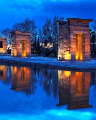 Debod Temple - Madrid - Obrázkek zdarma pro 480x640