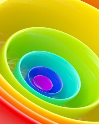 Rainbow Rings - Obrázkek zdarma pro Nokia Lumia 625