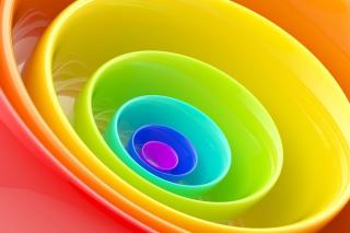 Rainbow Rings - Obrázkek zdarma pro HTC Desire 310