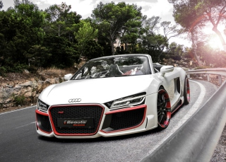Audi R8 V10 Picture for Android, iPhone and iPad
