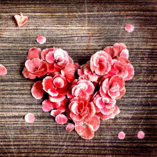 Heart Shaped Flowers - Obrázkek zdarma pro 208x208