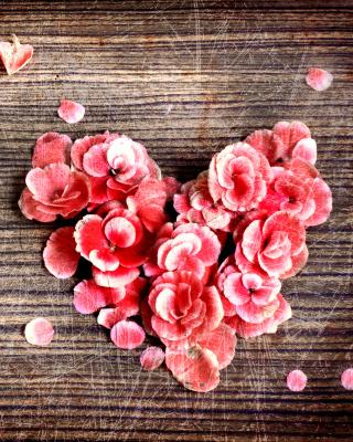 Heart Shaped Flowers - Obrázkek zdarma pro Nokia Asha 502