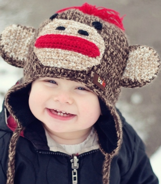 Cute Smiley Baby Boy - Obrázkek zdarma pro 480x640
