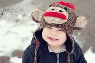 Cute Smiley Baby Boy - Obrázkek zdarma pro Nokia Asha 205