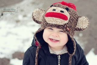 Cute Smiley Baby Boy - Obrázkek zdarma pro 480x400