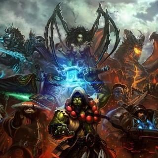 World of Warcraft Mists of Pandaria - Obrázkek zdarma pro 320x320