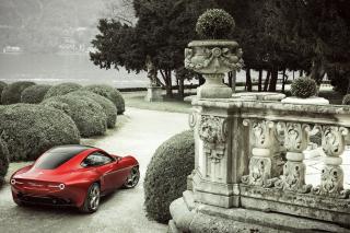 2013 Alfa Romeo Disco Volante - Obrázkek zdarma pro Samsung Galaxy Q