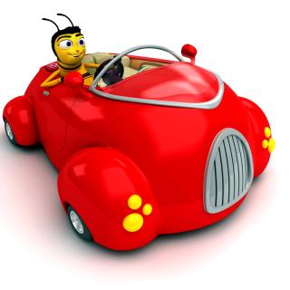 Bee Movie - Obrázkek zdarma pro iPad mini
