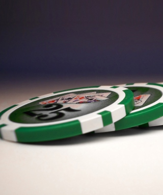 Texas Holdem Poker Chips - Obrázkek zdarma pro Nokia C-Series