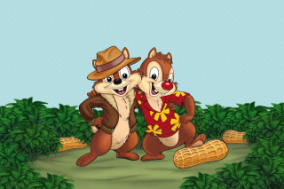 Chip and Dale Rescue Rangers 3 Background for Android, iPhone and iPad