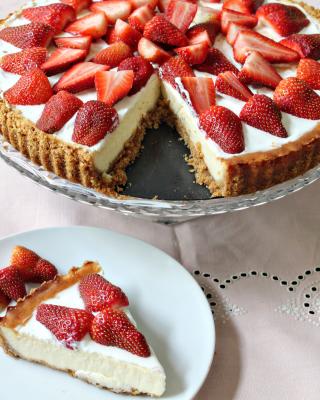 Strawberry Cheesecake - Obrázkek zdarma pro Nokia Asha 309