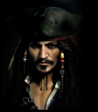 Captain Jack Sparrow - Obrázkek zdarma pro 128x160