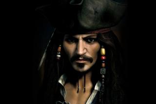 Captain Jack Sparrow - Obrázkek zdarma pro Android 960x800