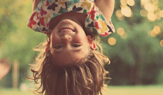 Happy Childhood Background for Android, iPhone and iPad