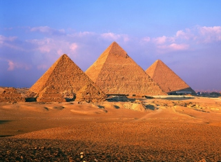 Nubian Pyramids Wallpaper for Android, iPhone and iPad