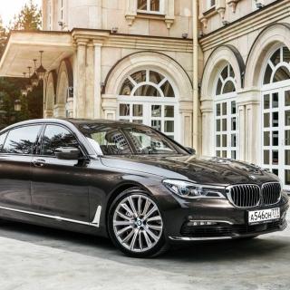 BMW 7 Series G12 - Obrázkek zdarma pro iPad mini 2
