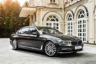 BMW 7 Series G12 Background for Android, iPhone and iPad