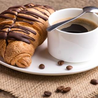 Breakfast with Croissant - Obrázkek zdarma pro iPad