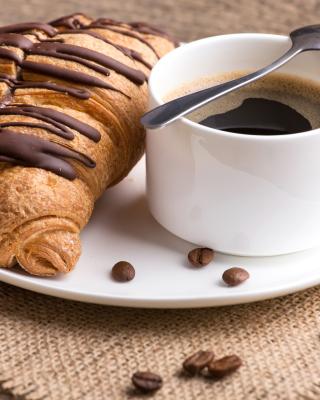 Breakfast with Croissant - Obrázkek zdarma pro Nokia Asha 502