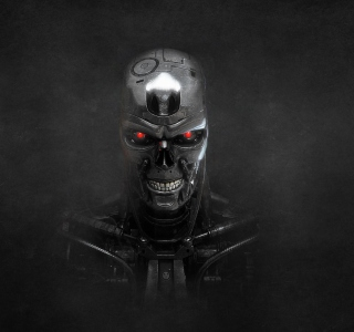 Terminator Skeleton - Obrázkek zdarma pro iPad Air
