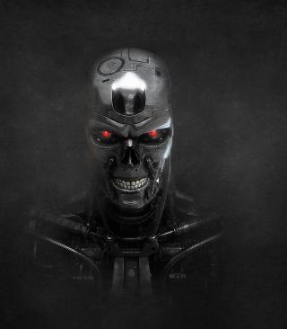Terminator Skeleton - Obrázkek zdarma pro Nokia Lumia 800