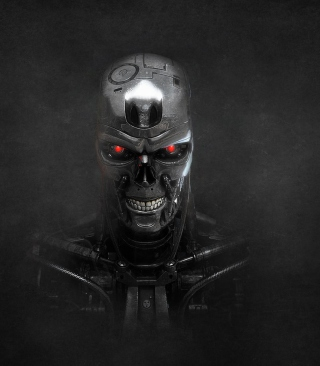 Terminator Skeleton - Obrázkek zdarma pro Nokia C1-01
