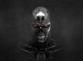Terminator Skeleton - Obrázkek zdarma pro Sony Xperia Z1