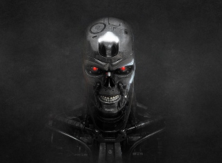 Terminator Skeleton - Obrázkek zdarma pro 1024x600