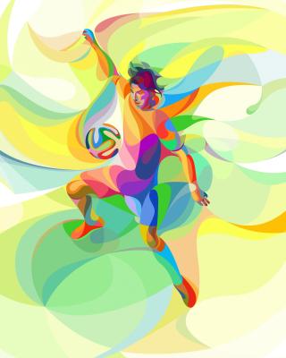 Rio 2016 Olympics Soccer - Obrázkek zdarma pro 240x400