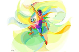 Rio 2016 Olympics Soccer - Obrázkek zdarma pro Desktop Netbook 1366x768 HD