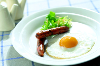 Breakfast with Sausage Picture for Android, iPhone and iPad