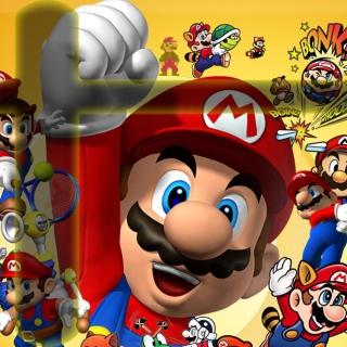 Mario - Obrázkek zdarma pro 1024x1024