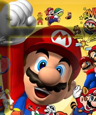 Mario - Obrázkek zdarma pro 320x480