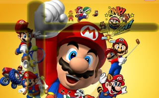 Mario - Obrázkek zdarma pro Widescreen Desktop PC 1920x1080 Full HD